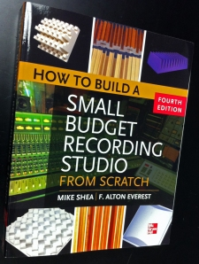 Book: How to Build a Small Budget Recording Studio From Scratch