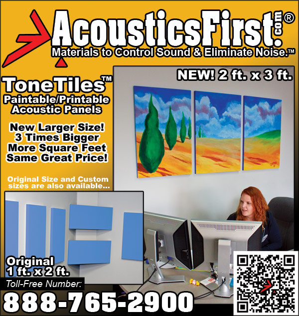 Look for our new ad in The Absolute Sound!