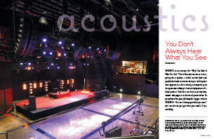 Acoustics First Article