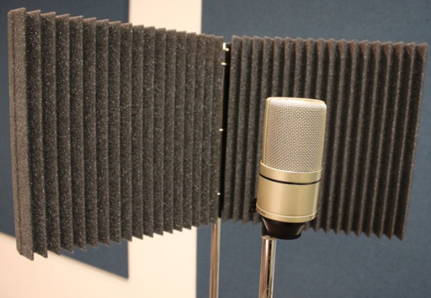 Complete Mic Shield with Microphone.