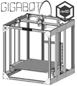 "The GigaBot™ by re:3D. Or as we call it ""The GiggleBot!"""