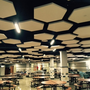 Hexagonal ToneTiles™ at Kramer Middle School.