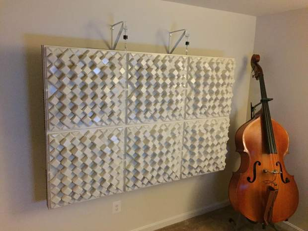 DIY - Diffuser Array/Bass Trap
