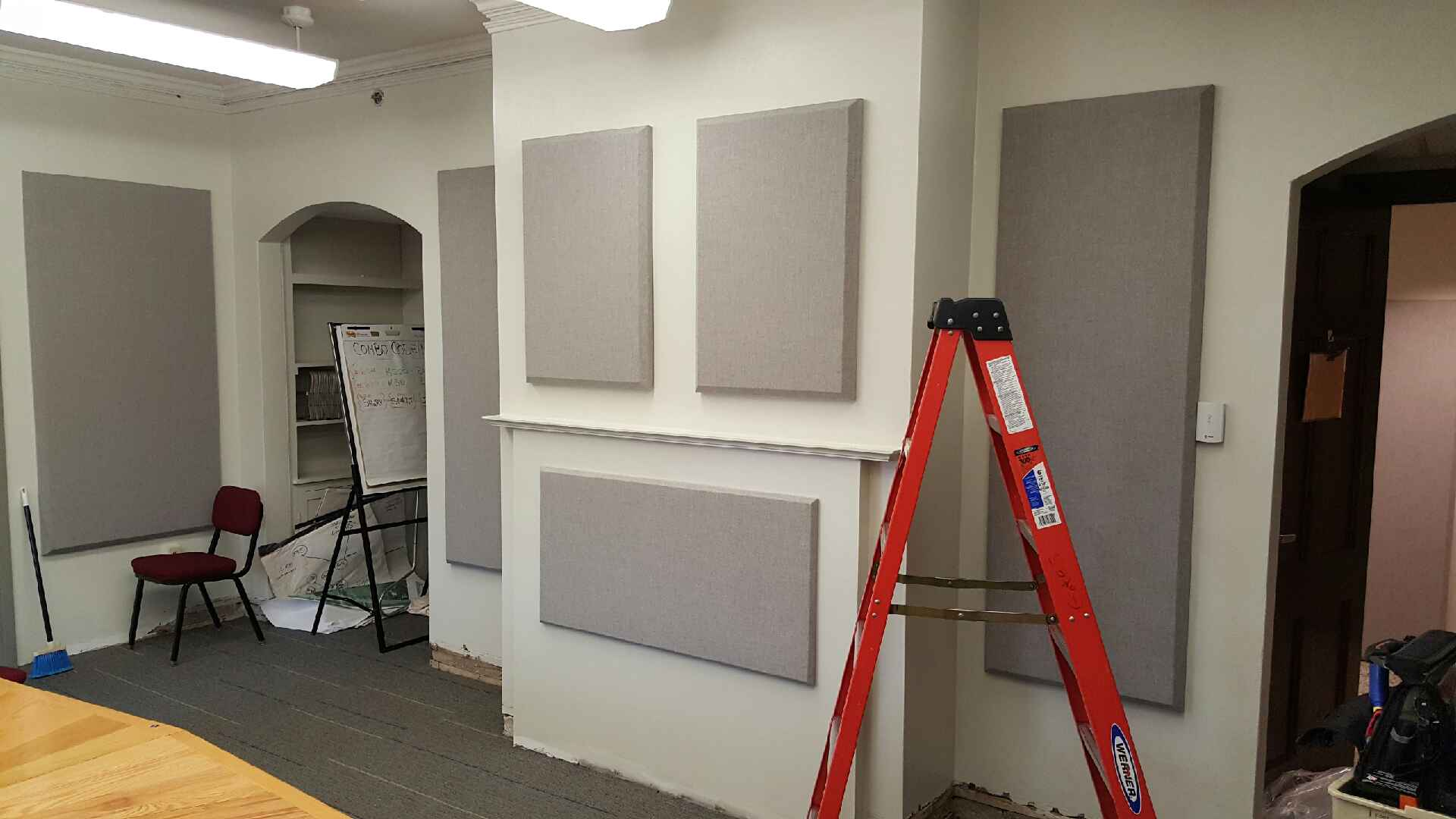 Sonora® Wall And Ceiling Panels Are Used For Absorbing Sound Within A Space.