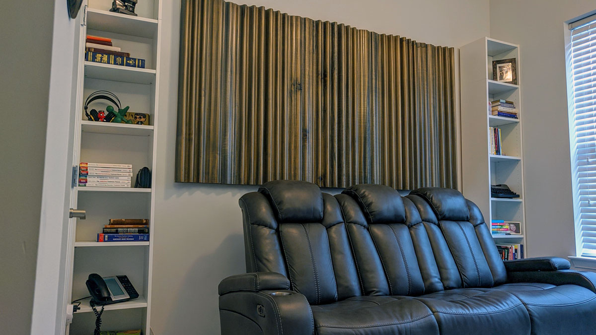 Diy Nouveau Home Theater Back Wall Acoustics First Blog