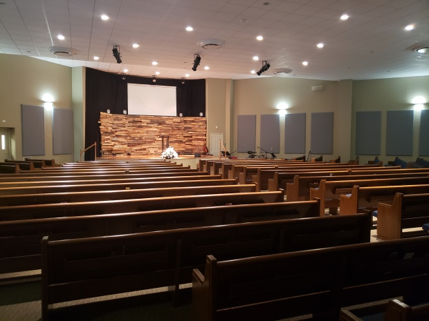 Sound Solutions installation at Midway Christian Church in Bluefield, WV
