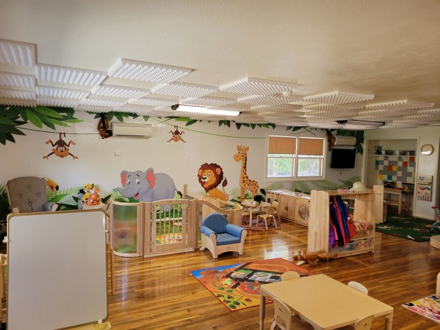 Little Safari Daycare Playroom